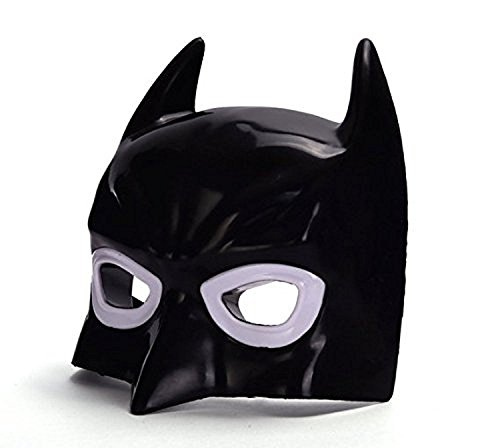 Oliadesign® Comics Costume Superhero LED Light Eye Mask (Batman)