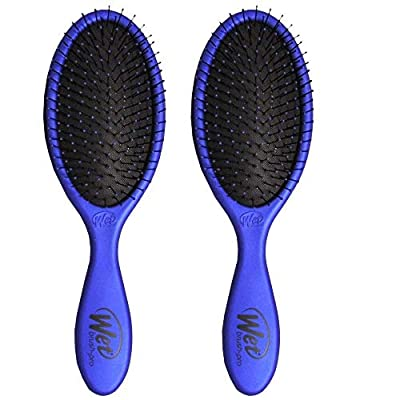 Wet Brush Collection Metallic, Blue and Blue, 2 Piece