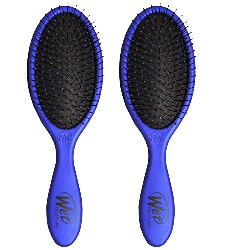 (Wet Brush Collection Metallic, Blue and Blue, 2 Piece)