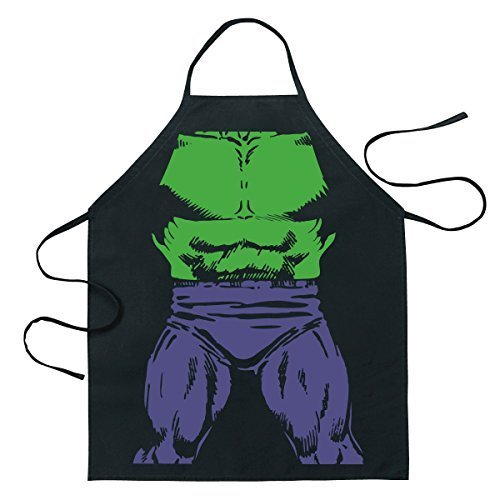 Tv Character Inspired Halloween Costumes (Marvel Incredible Hulk Hero Be The Hero Apron by ICUP)