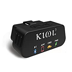 The power of information in your hands Kiwi 3 is a plug and play automotive tool that connects to the onboard diagnostic port (OBDII / CAN), retrieves information from your car's computer, and wirelessly transmits to your smart phone, tablet,...
