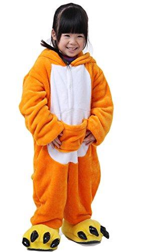 Oops Style Childrens Pajamas Animal Onesies Cosplay Homewear (85(Height100-110cm), Kangaroo) -