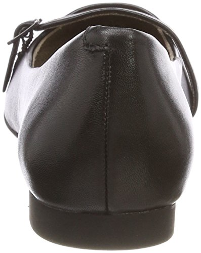 24234 Leather Ballerines Noir Femme Tamaris black 5dtx0wXwq
