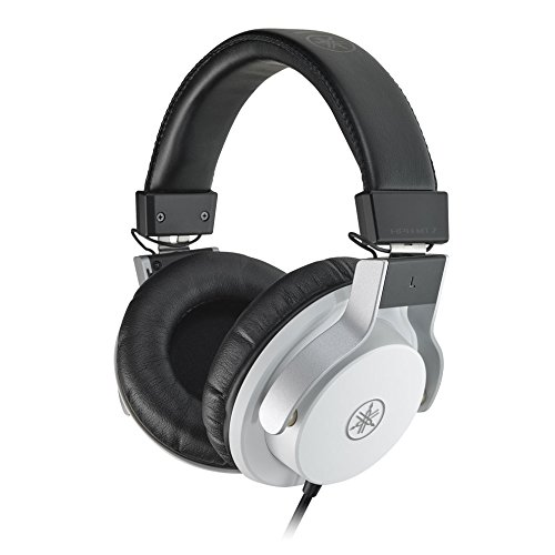 Yamaha HPH MT7 Monitor Headphones White