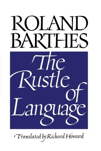 The Rustle of Language by University of California Press