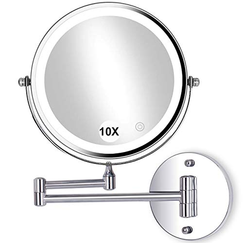 Led Lighted Mirror Wall Mount in US - 9