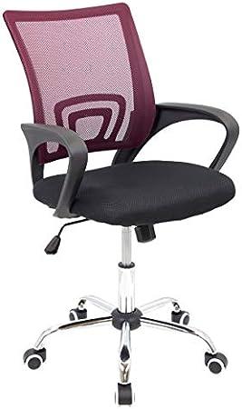 Silla ergonómica con asiento firme y respaldo fabricado en malla transpirable. Sus características p