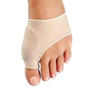 Bunion Corrector - Bunion Relief Sleeve and Bunion Protector - Cushioned with Gel Pad Elastic Long- Lasting for Effective Hallux Valgus Pain Relief (1 Pair) from Dr. WilsonTM