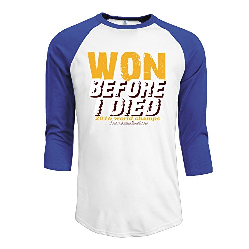 Champ 3/4 Sleeve Raglan Shirt - Men's WON BEFORE I DIED 2016 World Champs 3/4 Sleeve Raglan T-Shirt