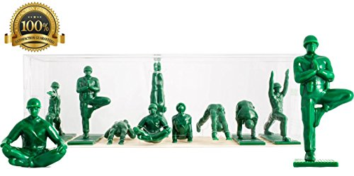 Yoga Joes - Green Army Men Toys