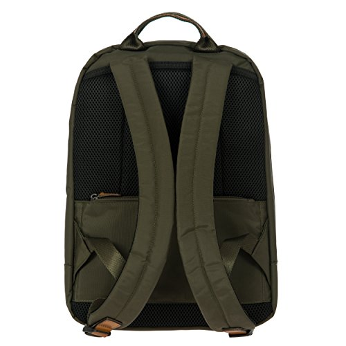 Bric's X-Travel 4 Piece Set | 21'', 25'', Metro Backpack, Travel Pillow (Olive) by Bric's (Image #5)