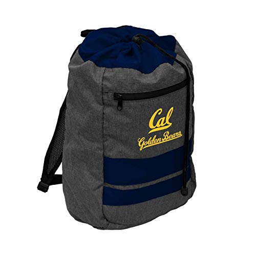 Logo Cal Golden Bears NCAA Journey Backsack - Navy, (Cal Bears Backpack)