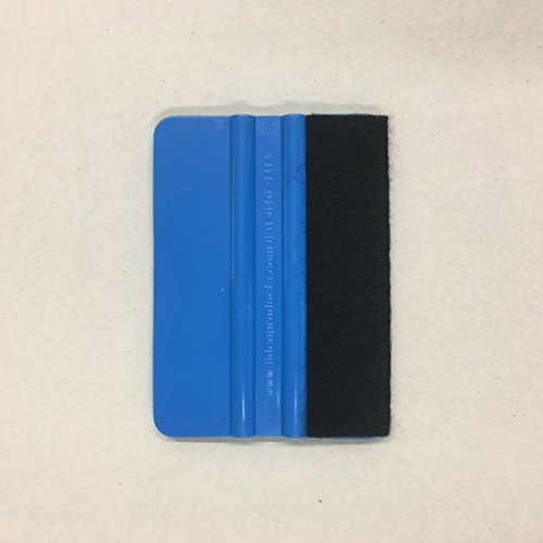 Blue Felt Vinyl Application Squeegee - 5 Pack by Lidco