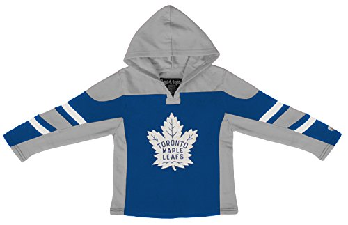 Toronto Maple Leafs Toddler Drift Pullover Hoodie, 5T, Dark Royal ()