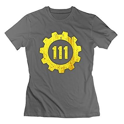 Women's Fallout 4 Vault 111 T-shirt -DeepHeather