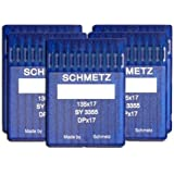 SCHMETZ 50 件 尺寸 18 20 21 23 24 135x17 DPx17 步行脚缝纫机针