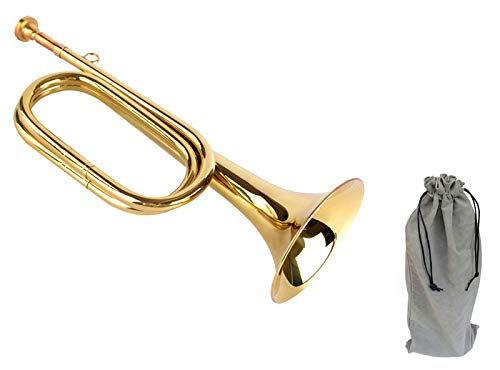 Timiy Brass Army Military Cavalry Scouting Trumpet