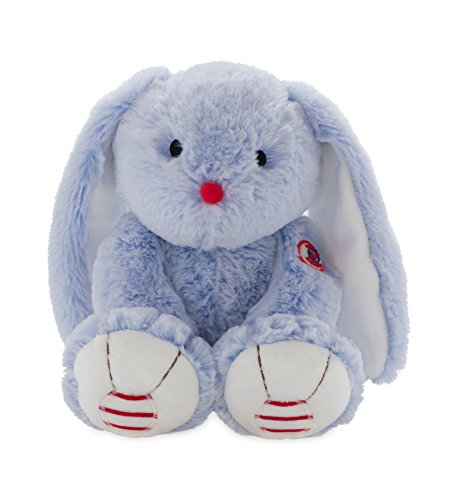 Kaloo Rouge Rabbit Plush, Blue, Medium (Blue Plush Rabbit Bunny)
