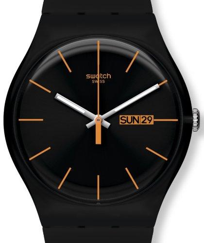 Unisex Black Silicone Strap Watch - 2
