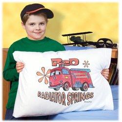 Pillowcase Art: CARS - Red