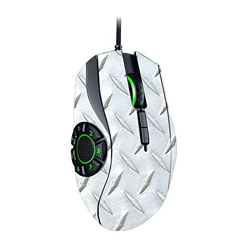 61eba64ef04 MightySkins Skin Compatible with Razer Naga Hex V2 Gaming Mouse - Diamond  Plate | Protective,