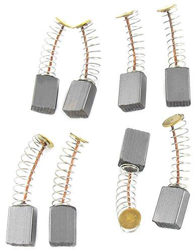 Uxcell Lot de 4 paires de brosses /à charbon pour perceuse /électrique 12 mm x 8 mm x 5 mm