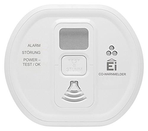 Ei Electronics Ei208D 10-Jahres-Kohlenmonoxidwarnmelder, weiß, 1 Stück