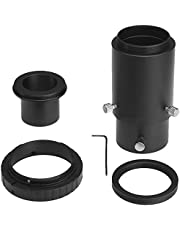 """Gosky Deluxe Telescope Camera Adapter Kit for Canon EOS/Rebel DSLR - Prime Focus and Variable Projection Eyepiece Photography - Fits Standard 1.25"""" Telescopes - Accepts 1.25"""" Eyepieces"""