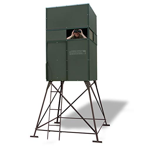 (4'x4' Deer Hunting Blind with 4' Tower - Model)