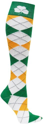(Ireland Argyle Dress Socks)