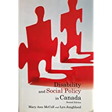 Disability and Social Policy in Canada
