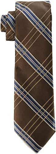 Rooster Men's Big-Tall Plaid Extra Long Necktie