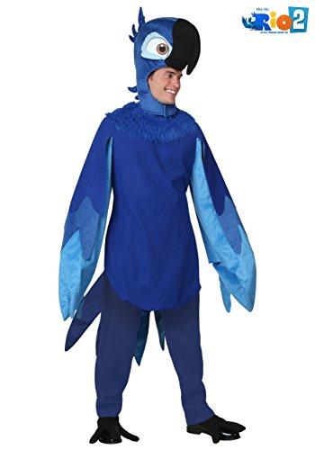 Adult Rio Blu Costume Standard ()