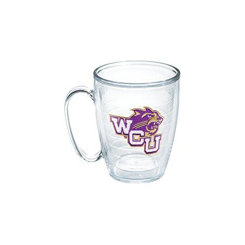 Tervis Western Carolina University Emblem Individual Mug, 16 oz, Clear Carolina University Mug