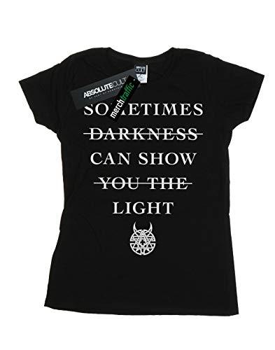 Absolute Camiseta Mujer Negro Cult Sometimes Disturbed Darkness gfwzgq7