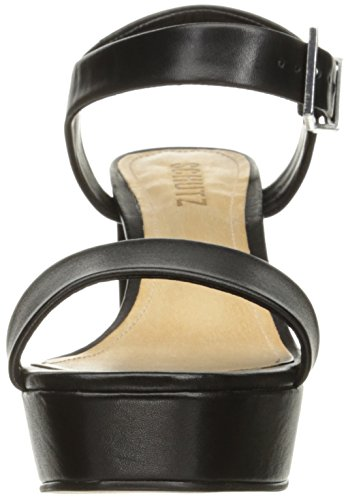 Schutz Kvinders Rhenda Platform Kjole Sandal Sort 4oY6ekg7g