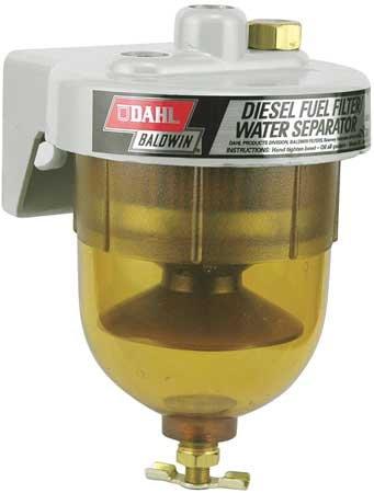 Baldwin Filters  65-W30 DAHL Fuel/Water Separator (4-3/16x6-1/8 In)