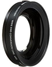 Panasonic VW-WE08HE-K Weitwinkellinse 46 mm für HD Camcorder SD707, TM700, HS700 ohne Zoomfunktion