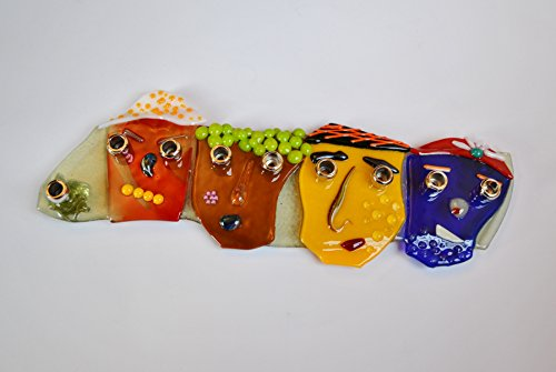 Funny faces menorah by (Funny Menorahs)