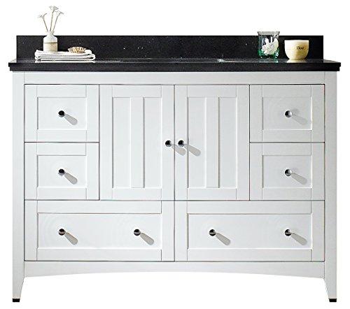 - American Imaginations AI-888-17664 Plywood-Veneer Vanity Set, White