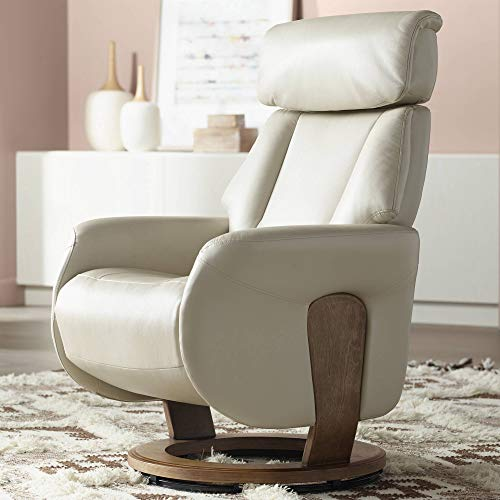 Augusta Taupe Faux Leather 4-Way Recliner ()