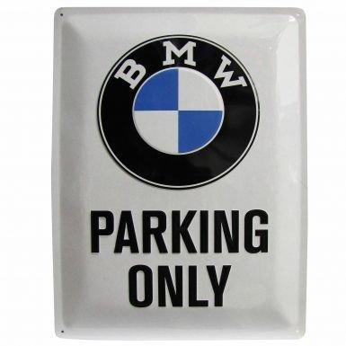 Pro Grande en m/étal BMW Parking Only Sign U.S.A