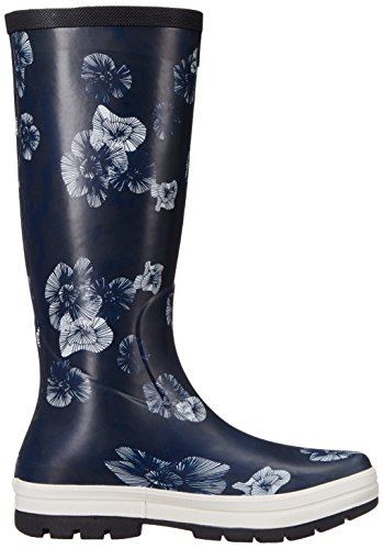Helly Hansen Womens Veierland 2 Graphic Rain Boot Navy / Evening Blue / Off White