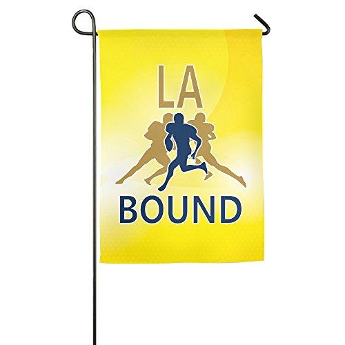 JFD Los Angeles Bound The Rams Football House Flag - Bailey Tyler