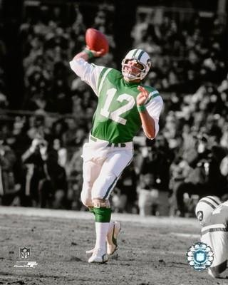 - New York Jets Joe Namath 8x10 Action Photo Picture.MF