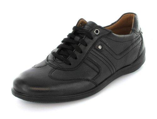 Jomos Primera Schnuerer 315201/26000 Herren Sneaker Glattleder schwarz 44