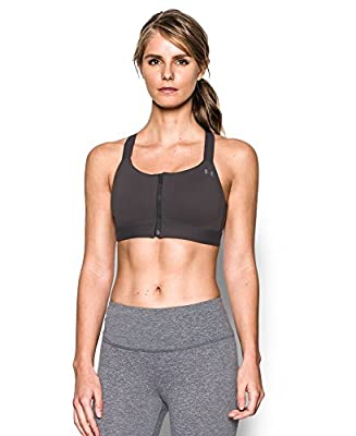 Under Armour Women's Armour Eclipse High Impact Zip Sports Bra