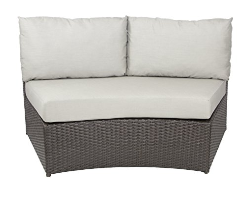 Patio Heaven PH-VAL-CTR-5422 Vallejo Center Chair in Canvas Fabric, Antique (Ctrs Antique)