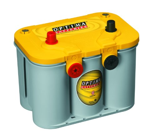 1976 Jeep Cj7 - Optima Batteries 8014-045 D34/78 YellowTop Dual Purpose Battery