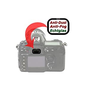 Delamax - Cristal protector para visor de Nikon D70s, D60, D50 y D40x